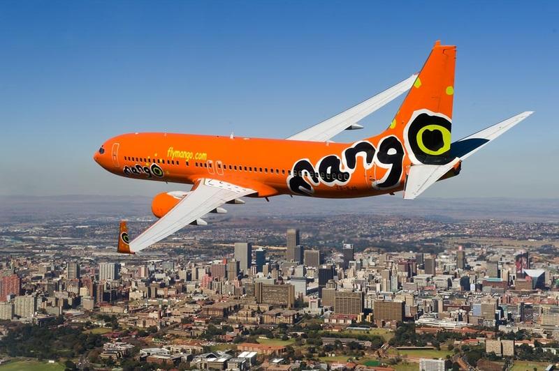 South African Mango Airlines tissospendi t-titjiriet kollha