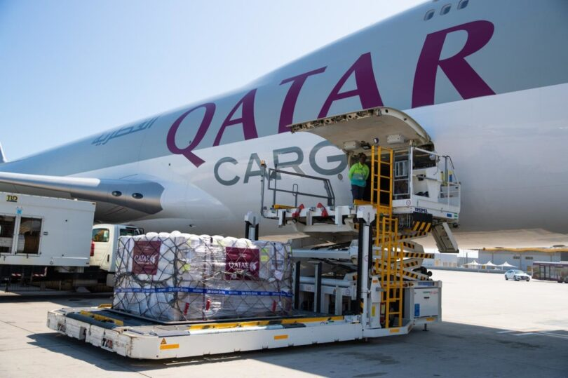 Qatar Airways flies essential medical supplies to India free of charge
