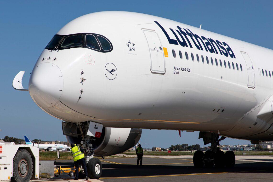"Lufthansa Airbus A350-900 ""Erfurt"" blir klimaforskningsfly"