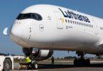 """Lufthansa Airbus A350-900 """"Erfurt"""" dia ho lasa fiaramanidina fikarohana momba ny toetrandro"""