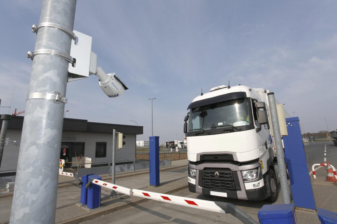 Fraport, 프랑크푸르트 공항의 CargoCity South에서 자동 번호판 감지 기능 도입