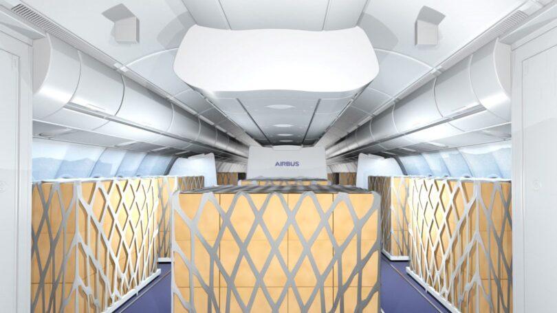 Airbus e Lufthansa Technik oferecem soluções temporárias de carga na cabine
