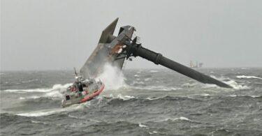 6 نفر نجات یافته ، 13 نفر هنوز در فاجعه کشتی لوئیزیانا مفقود شده اند
