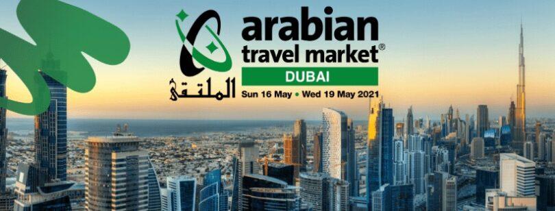 दुबईमध्ये 2021 अरबी ट्रॅव्हल मार्केट मधील वैयक्तिक कार्यक्रमासाठी अंतिम तयारी