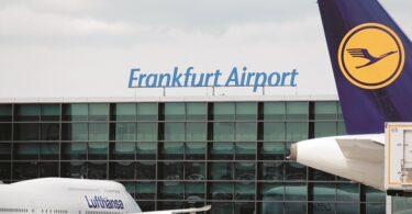 میزان تردد مسافران در فرودگاه فرانکفورت کم است