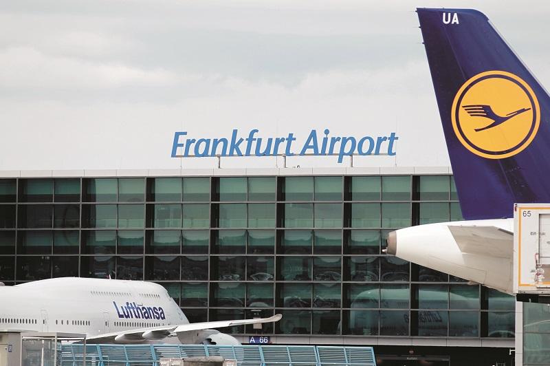 Passagertrafikken forbliver lav i Frankfurt Lufthavn