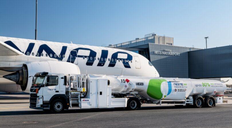 Neste dhe Finnair paraqesin zgjidhje të qëndrueshme të karburantit të aviacionit të qëndrueshëm për të zvogëluar emetimet e udhëtimeve të biznesit