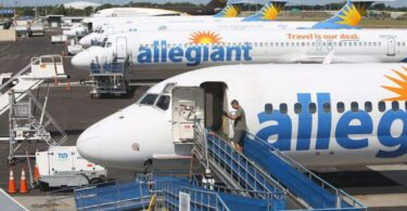 Allegiant accepterer i princippet den første kontrakt med International Brotherhood of Teamsters