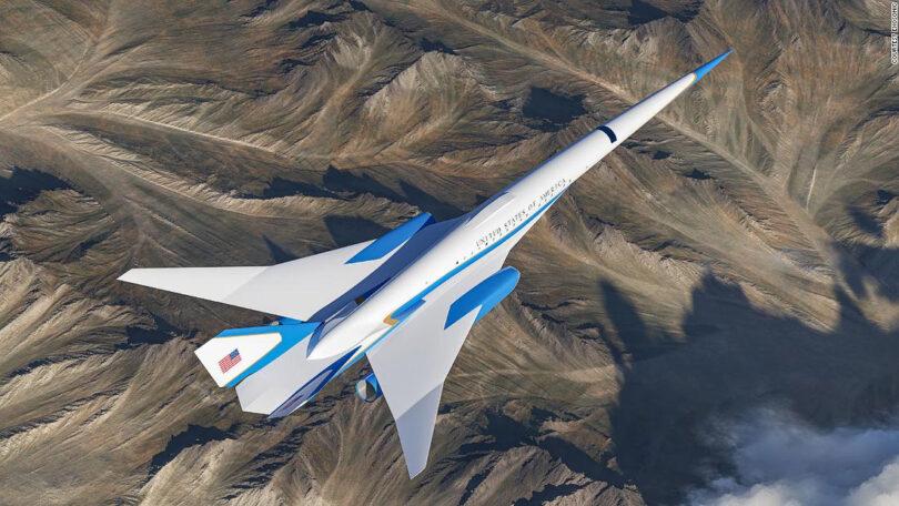 El Air Force One se vuelve supersónico