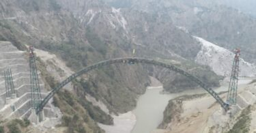 India to complete world's highest railway bridge by 2022