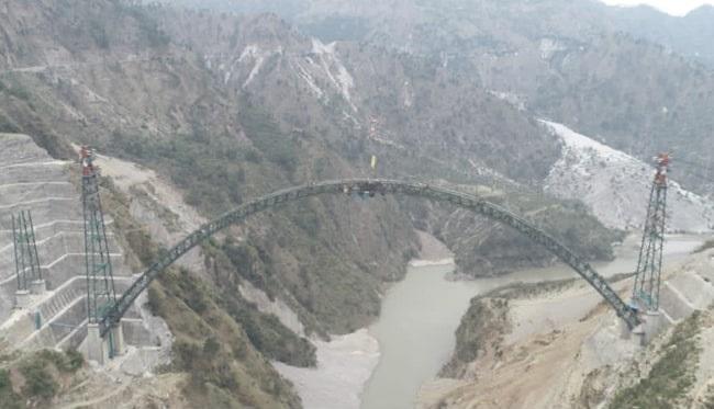 Հնդկաստանը կավարտի աշխարհի ամենաբարձր երկաթուղային կամուրջը մինչ 2022 թվականը