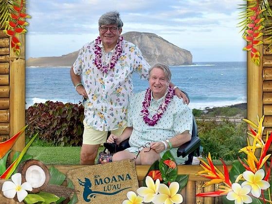 Skvělá havajská událost vhodná pro handicapy