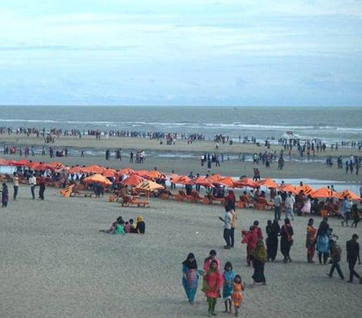 مراکز گردشگری Cox's Bazar در میان افزایش COVID دستور خاموش شدن را صادر کردند