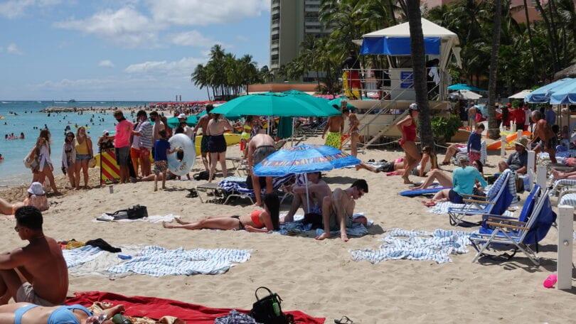 سجل السياحة في هاواي سر ولكنه طبيعي جديد غير متوقع