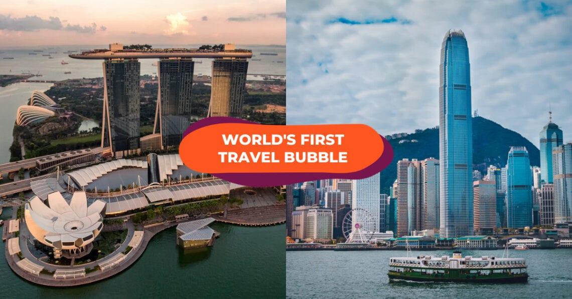 Singapuro - Hong Kong Travel Bubble denove prokrastiĝis