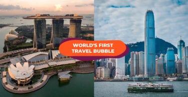 Singapura - Gelembung Perjalanan Hong Kong tertunda lagi