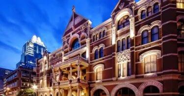 Օստին Տեխասի ամենահին գործող հյուրանոցը ՝ Դրիսկիլ հյուրանոց