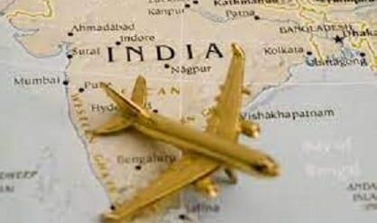 Mlengalenga modetsa nkhawa ndege zaku India