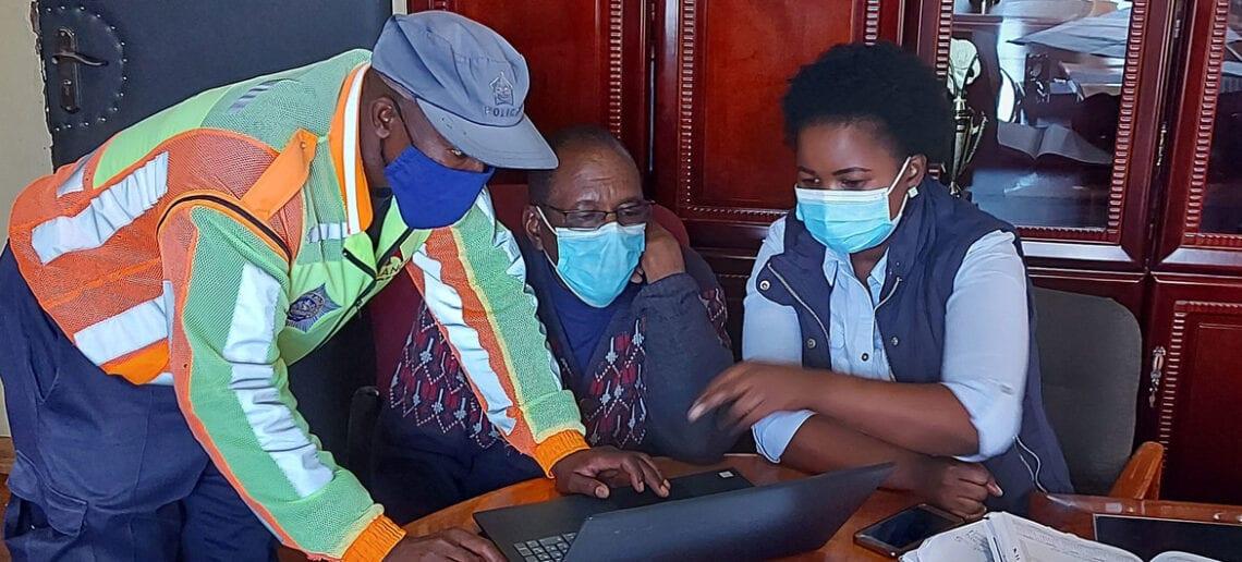 Juliet Lithemba nővér, a lesothói COVID hősök egyike