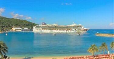 नॉर्वेजियन क्रूज़ लाइन ने जमैका को 1 मिलियन अमेरिकी डॉलर का दान दिया