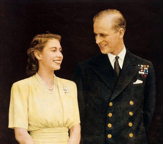 Hendes Majestæt Dronningen fremsatte en trist meddelelse om hendes mands død siden 1947