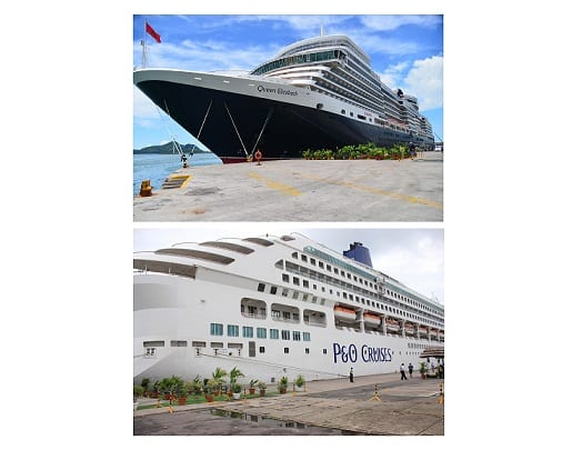 Resumption of cruise ship calls in Seychelles
