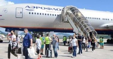 Aeroflot menambah frekuensi ketiga pada laluan Seychelles