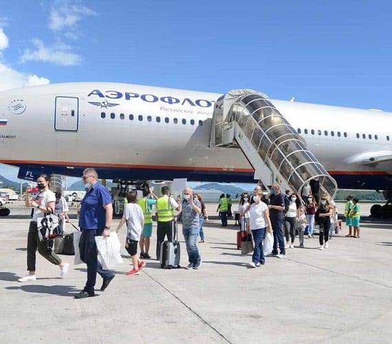 Aeroflot shton frekuencën e tretë në rrugën Seychelles