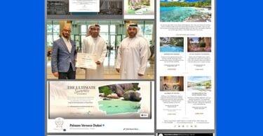 Seychelles-ek Palazzo Versace Dubai-ren E-Gift Platform plataforman agertzen da