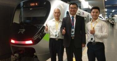 ताइवान की नई कम्यूटर ट्रेन में TUV रीनलैंड के साथ जर्मनी का थोड़ा स्पर्श है