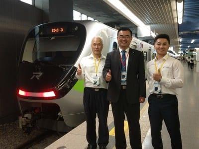 Taiwaneko Aldiriko Tren berriak Alemaniaren ukitu txiki bat du TUV Rheinland-ekin
