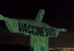 Kulalikira kwa katemera: Rio wa Khristu Wowombola amawunikira chizindikiro cha Vaccine Saves