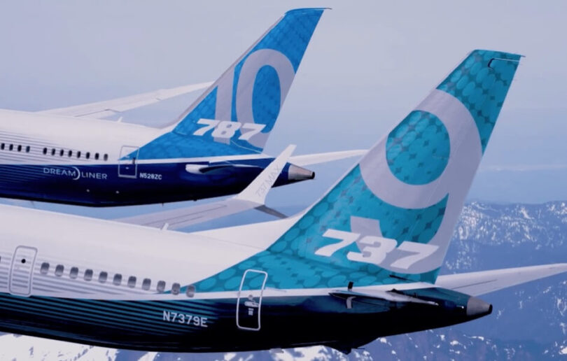 US House Committee on Transportation asks for Boeing 787 and 737 MAX production issues documents