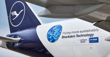 D'Lufthansa Group an d'BASF rullt Sharkskin Technologie aus