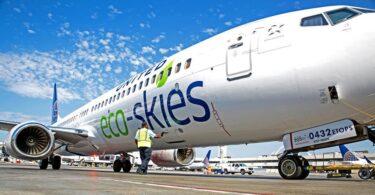 شرکت های هواپیمایی ایالات متحده از قانون آسمان پایدار پشتیبانی می کنند