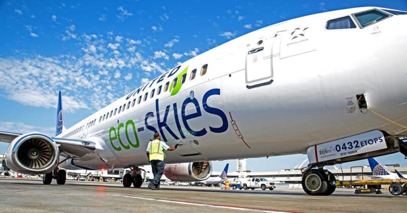US airlines support Sustainable Skies Act