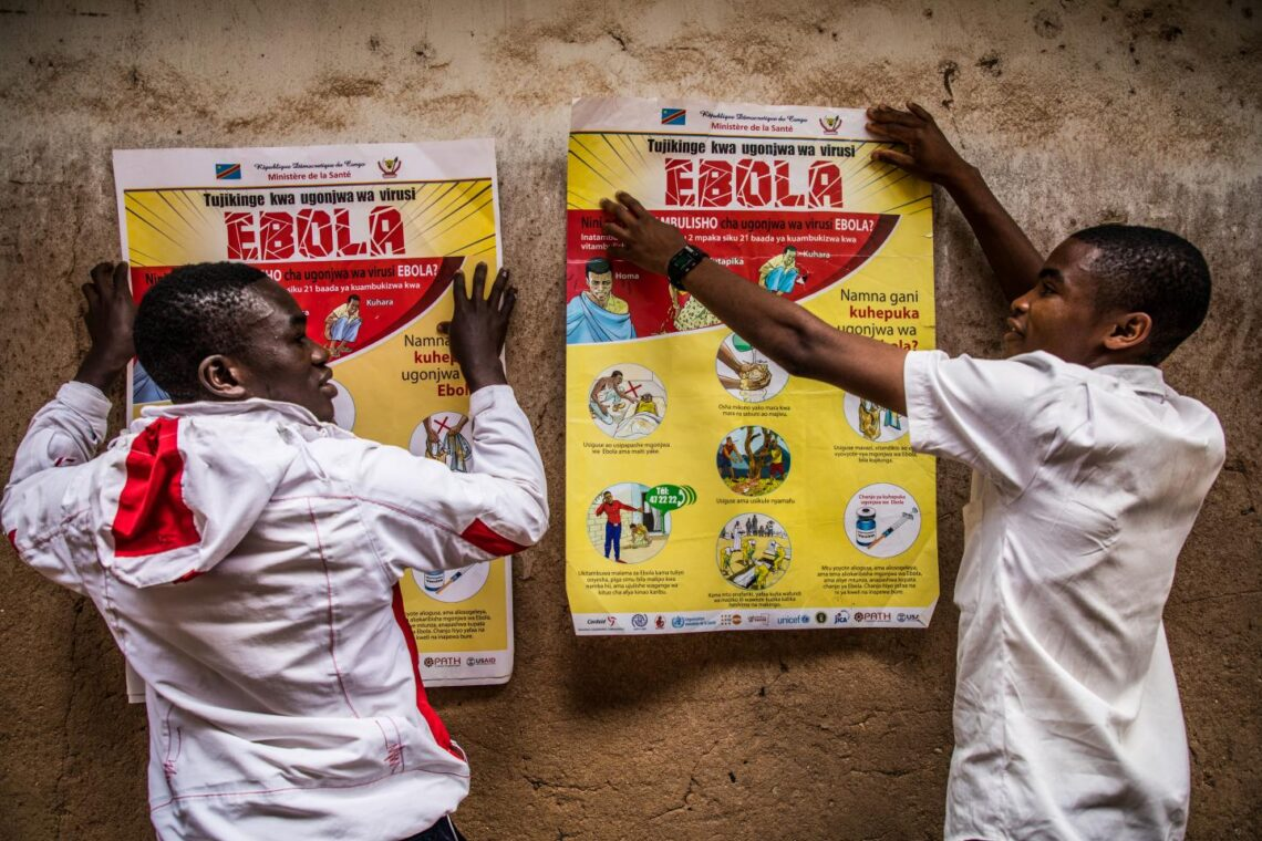 Ebola-útbraak oer yn 'e Demokratyske Republyk Kongo