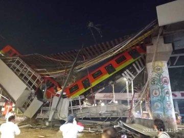 23 ადამიანი დაიღუპა, 79 დაშავდა მეხიკოში მატარებლის ესტაკადის ჩამოვარდნის შედეგად