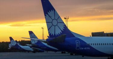 Belavia, EU 및 우크라이나 비행 금지로 인해 베오그라드, 부다페스트, 키시 나우 및 탈린 항공편 취소