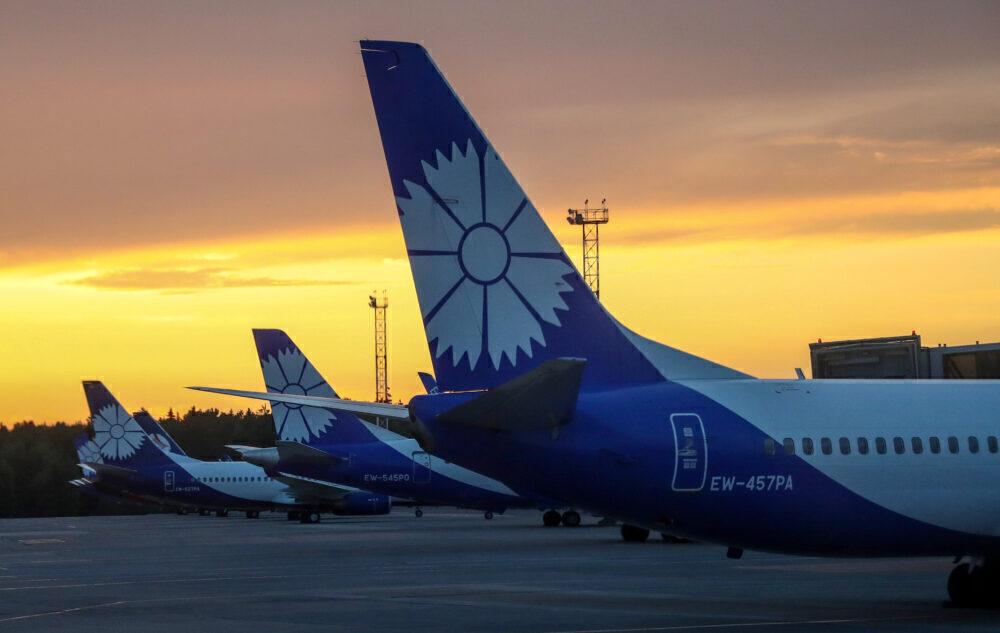 Belavia ruší lety do Bělehradu, Budapešti, Kišiněva a Tallinnu kvůli zákazu letů z EU a Ukrajiny