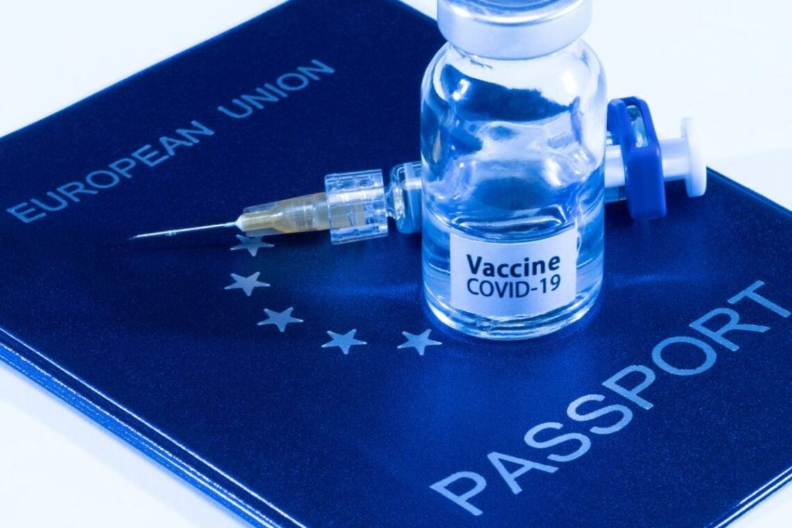 Паспортите за ваксина COVID-19 за пътуване в рамките на ЕС излитат в Европа