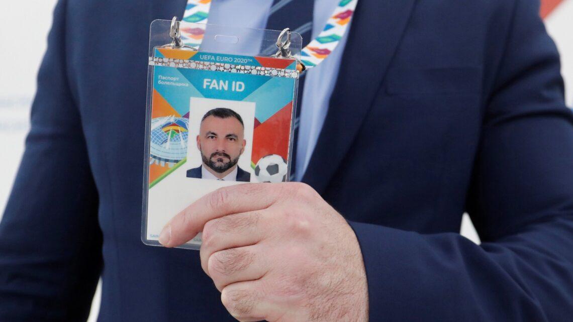 Venäjä avaa viisumivapauden UEFA EURO 2020 -faneille, joilla on Fan ID