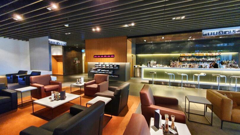 Lufthansa reabre sua sala de primeira classe no aeroporto de Frankfurt