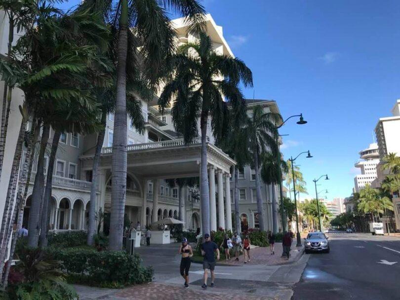 Os hotéis do Havaí registraram receita substancialmente mais alta em abril de 2021