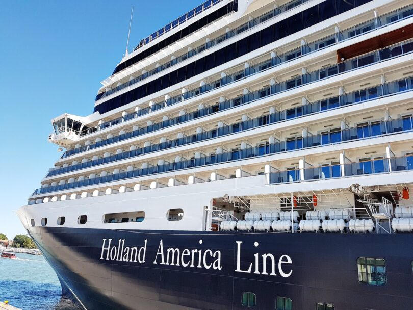 Holland America Line ripiglia e crociere in Grecia in Aostu