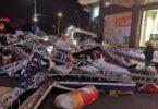 Orkanvind dræber 11 og skader dusinvis i Kina