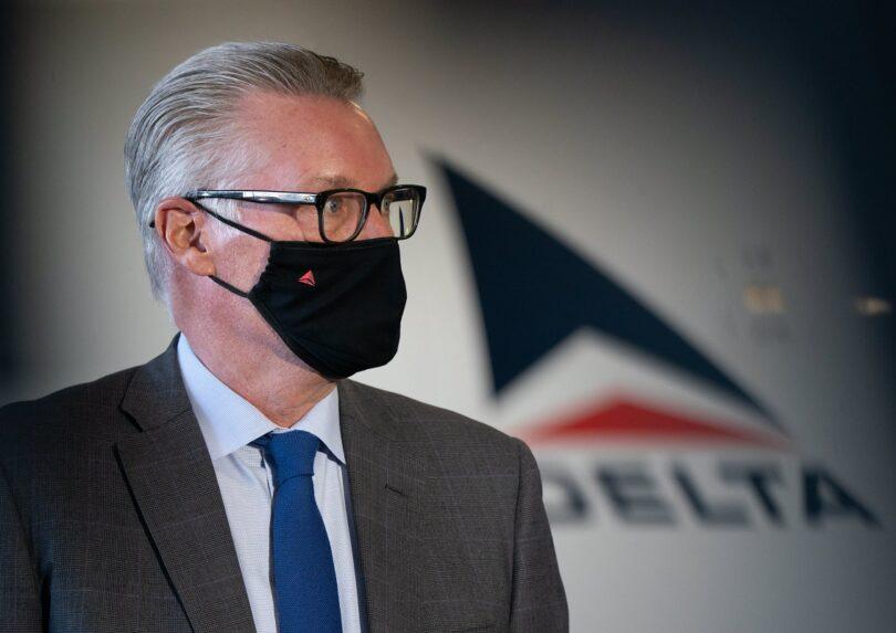 Delta Air Lines ho hloka litefiso tsohle tse ncha ho entoa khahlanong le COVID-19