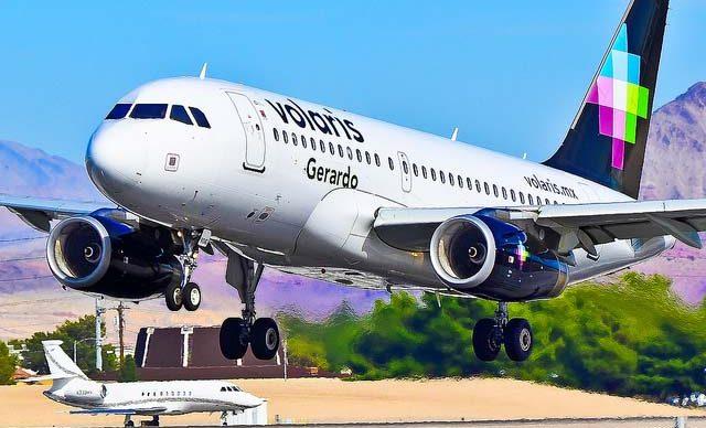 Volaris: 107% de la capacidad de 2019 con 82% de factor de carga en abril de 2021