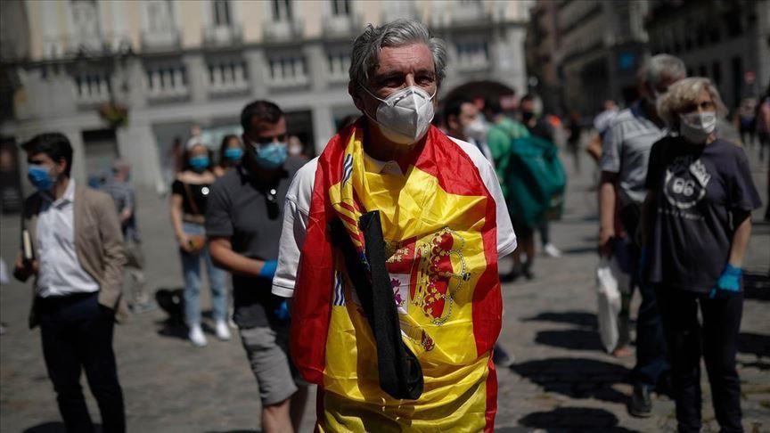 Touris etranje nan peyi Espay nan mwa mas 2021 desann 75.5% vs mas 2020