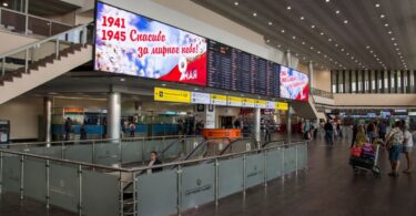 Sheremetyevo Airport offers special services to WWII survivors during Victory Day celebration